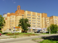 Kaluga, Gagarin st, house 8. Apartment house with a store on the ground-floor