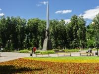 Kaluga, 纪念碑 К.Э.ЦиолковскомуGagarin st, 纪念碑 К.Э.Циолковскому