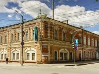 Калуга, улица Дзержинского, дом 64. жилой дом с магазином