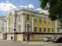 Kaluga, Dostoevsky st, house 48. Apartment house with a store on the ground-floor