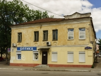 Kaluga, Teatralnaya st, house 21. Apartment house with a store on the ground-floor