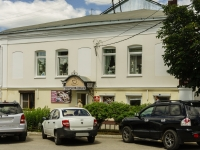 Kaluga, Teatralnaya st, house 13. Apartment house with a store on the ground-floor
