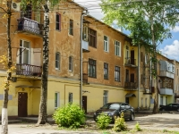 Kaluga, st Moskovskaya, house 6. Apartment house with a store on the ground-floor