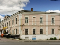 Kaluga, Moskovskaya st, house 1. Apartment house with a store on the ground-floor