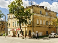 Kaluga, Moskovskaya st, house 8. Apartment house with a store on the ground-floor