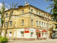 Kaluga, st Moskovskaya, house 8. Apartment house with a store on the ground-floor