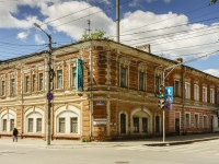 Kaluga, st Moskovskaya, house 18. Apartment house with a store on the ground-floor
