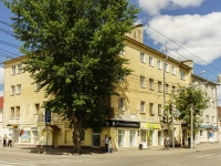 Kaluga, Moskovskaya st, house 20. Apartment house with a store on the ground-floor