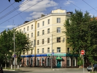 Kaluga, Chizhevsky st, house 5. Apartment house with a store on the ground-floor