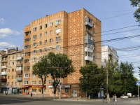 Kaluga, Proletarskaya st, house 133. Apartment house with a store on the ground-floor