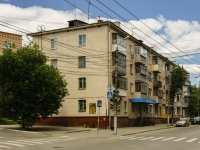 Kaluga, st Lunacharsky, house 10/15. Apartment house with a store on the ground-floor
