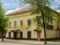 Kaluga, Lunacharsky st, house 12. Apartment house with a store on the ground-floor