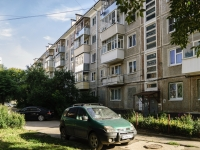 Kaluga, Pobedy square, house 7. Apartment house with a store on the ground-floor