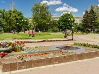 Калуга, площадь Победы. памятник Вечный огонь