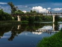 улица Советская. мост Реки Протвы