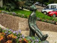 Borovsk, 纪念碑 К.Э. ЦиолковскомуSovetskaya st, 纪念碑 К.Э. Циолковскому
