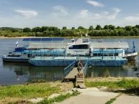 Таруса, многофункциональное здание причал на реке Окаулица Володарского, многофункциональное здание причал на реке Ока