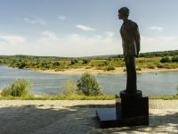 Tarusa, st Karl Libknekht. monument
