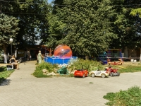Tarusa, st Lenin. children's playground
