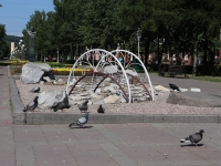 Кемерово, улица Весенняя. малая архитектурная форма