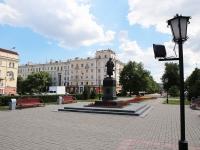 Кемерово, памятник А.С.Пушкинуулица Орджоникидзе, памятник А.С.Пушкину