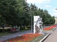 Кемерово, улица Орджоникидзе. скульптурная композиция героев пушкинских произведений