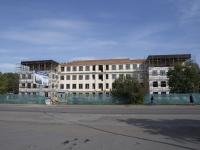 Кемерово, улица Черняховского, дом 2. здание на реконструкции