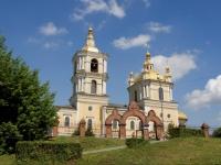 Новокузнецк, собор Спасо-Преображенский, улица Водопадная, дом 18