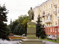 Новокузнецк, улица Кирова. памятник С.М. Кирову