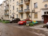 Новокузнецк, улица Орджоникидзе, дом 17. жилой дом с магазином