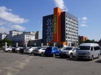 """Новокузнецк, улица Кутузова, дом 17А. офисное здание ГРИНВИЧ """"Бизнес-центр"""""""