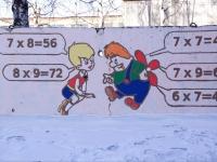 Новокузнецк, улица Куйбышева. Настенные рисунки