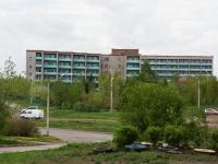 Новокузнецк, улица Олимпийская, дом 17. медицинский центр Новокузнецкий дом-интернат для престарелых и инвалидов №2