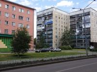 Новокузнецк, улица Веры Соломиной, дом 4. многоквартирный дом