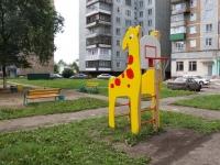 Novokuznetsk, Zorge st, house 4. Apartment house