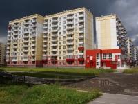 Новокузнецк, улица Братьев Сизых, дом 6. многоквартирный дом