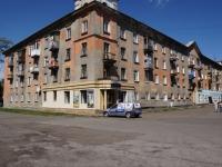 Novokuznetsk, st Pushkin, house 24. Apartment house