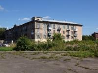 Novokuznetsk, st Pushkin, house 25. Apartment house