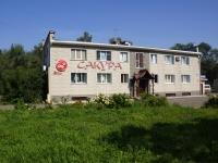 Новокузнецк, улица Луначарского, дом 4А. многофункциональное здание