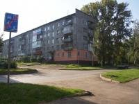 Novokuznetsk, Ln Chekistov, house 2. Apartment house