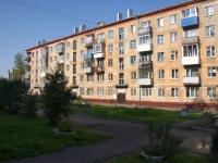 Novokuznetsk, Ln Chekistov, house 5. Apartment house