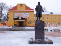 Шахтёров проспект. памятник А.С. Пушкину