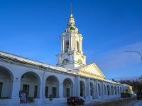 Кострома, церковь Спаса Нерукотворного, улица Красные Ряды, дом 2