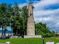 Кострома, улица Красные Ряды. памятник И. Сусанину