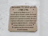 Кострома, рынок Центральный, улица Мучные Ряды, дом 1
