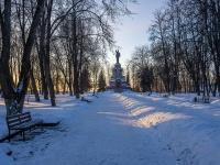 Кострома, улица Чайковского. парк Центральный