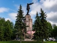 Кострома, памятник В. И. Ленинуулица Табачные ряды, памятник В. И. Ленину