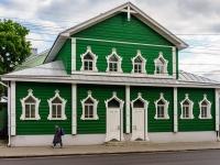 Кострома, улица Советская, дом 16. строящееся здание