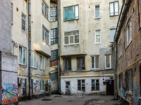 , Vokzalnaya st, house 13. Apartment house