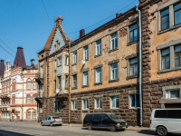 , Vyborgskaya st, 房屋 1. 公寓楼